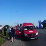 stiri, botosani, stiri din botosani, autocare PSD, protest PSD
