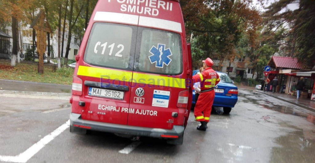 accident, stiri, botosani, ambulanta smurd