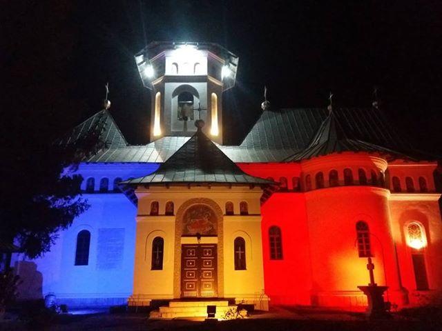 biserica victoria , stauceni, stiri, botosani, tricolor