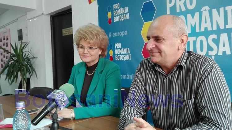 mihaela hunca - dumitru chelariu la pro romania botosani