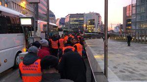 protest transportatori bruxelles