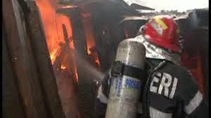 pompieri, incendiu, baraca, stiri, botosani