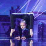 Andreea Tucaliuc, contorsionista din Botosani la Romanii au talent