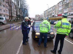 accident pe strada Grivita din municipiul Botosani