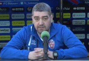 antrenorul FC Botosani, Liviu Ciobotariu