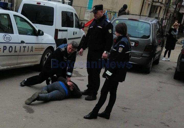 capturat de politisti, stiri, botosani, tentativa de omor