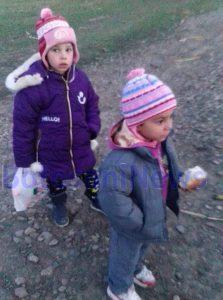 copii gasiti pe camp- Ungureni- Botosani