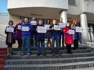 protest al procurilor din Botosani fata de modificarea legilor justitiei