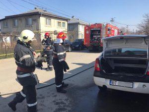 scurgeri carburanti dintr-o masina la Dorohoi -Botosani