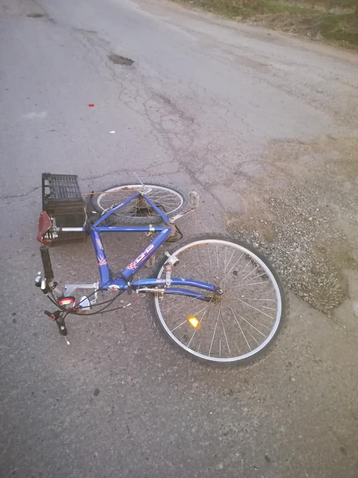 accident de bicicleta la Todireni- Botosani