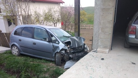 accident la Hudesti - Botosani