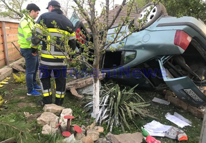 accident mortal de Paste la Hlipiceni -Botosani
