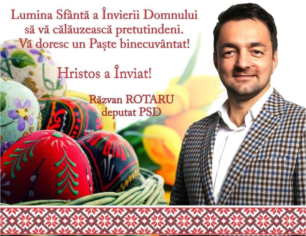 felicitare Paste Razvan Rotaru