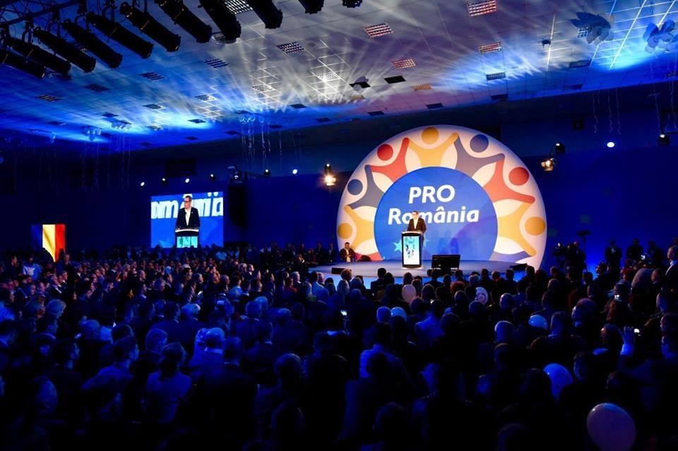 lansare candidati Pro Romania la europarlamentare- Victor Ponta