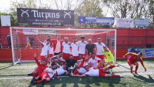 New Boys United, echipa romanilor din Anglia