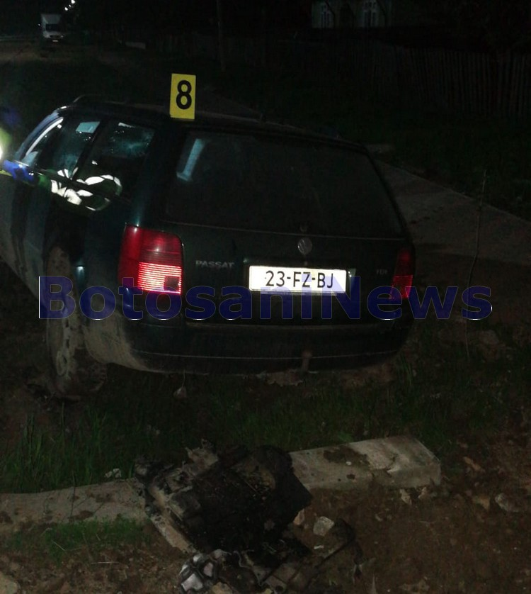 accident Copalau- Botosani