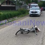 accident biciclist- Botosani