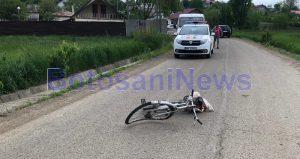 accident biciclist- Botosani