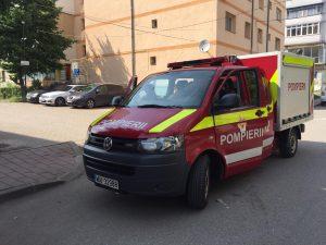 pompieri smurd la Dorohoi- Botosani