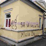 sediu PSD botosani vandalizat (1)