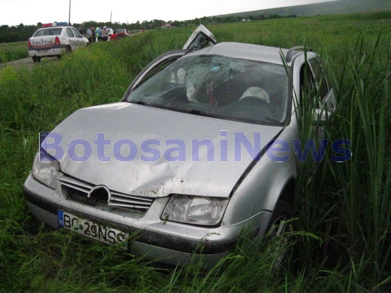 accident Ungureni- Botosani