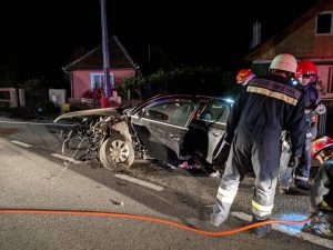 accident la bistrita produs de un tanar din Botosani