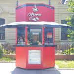 aroma caffe- pe Bulevadul Mihai Eminescu Botosani
