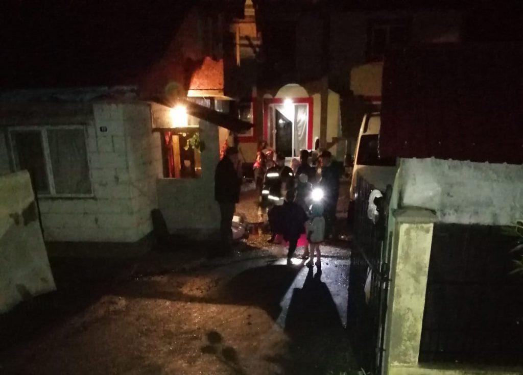 familii evacuate la Todireni- Botosani