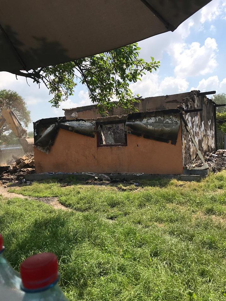 incendiu casa la Botosani