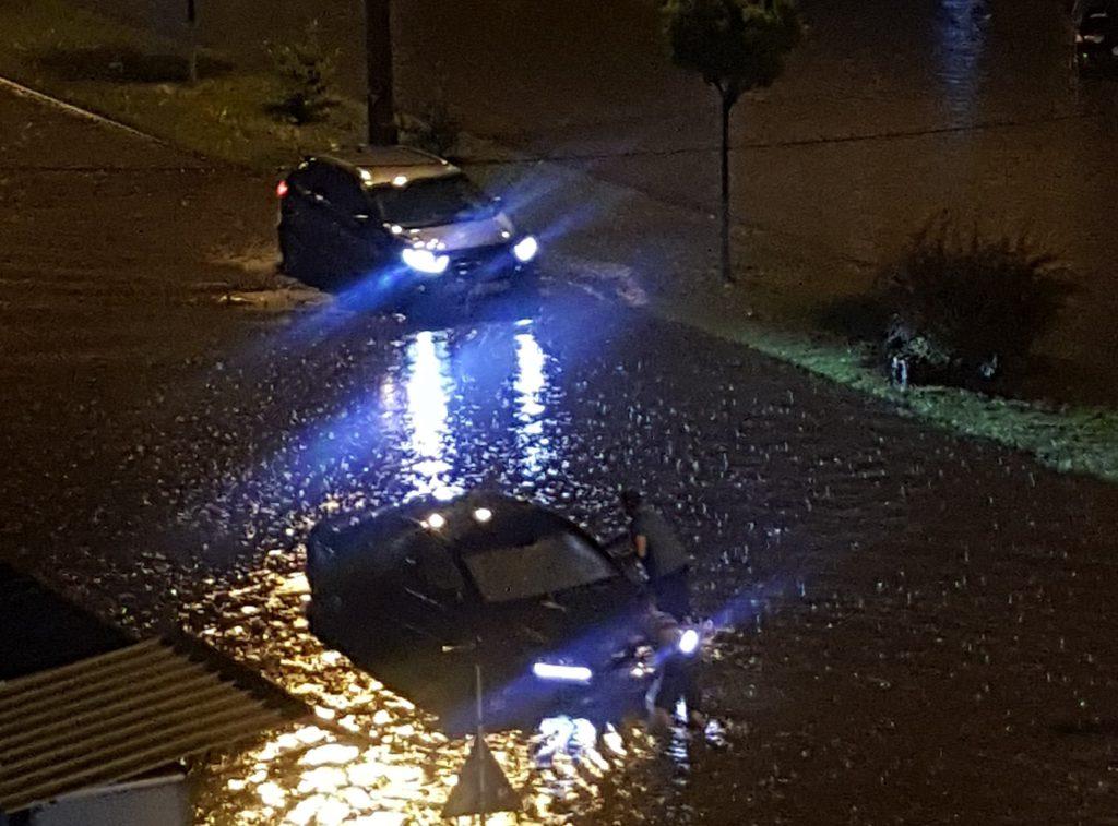 inundatii Calea Nationala - Botosani