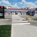 linia drive de la KFC Botosani