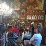 sfintire biserica din satul Maghera- Varfu Campului Botosani, slujba oficiata de Calinic Botosaneanul