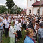 sfintire biserica din satul Maghera- Varfu Campului Botosani, slujba oficiata de Calinic Botosaneanul (5)